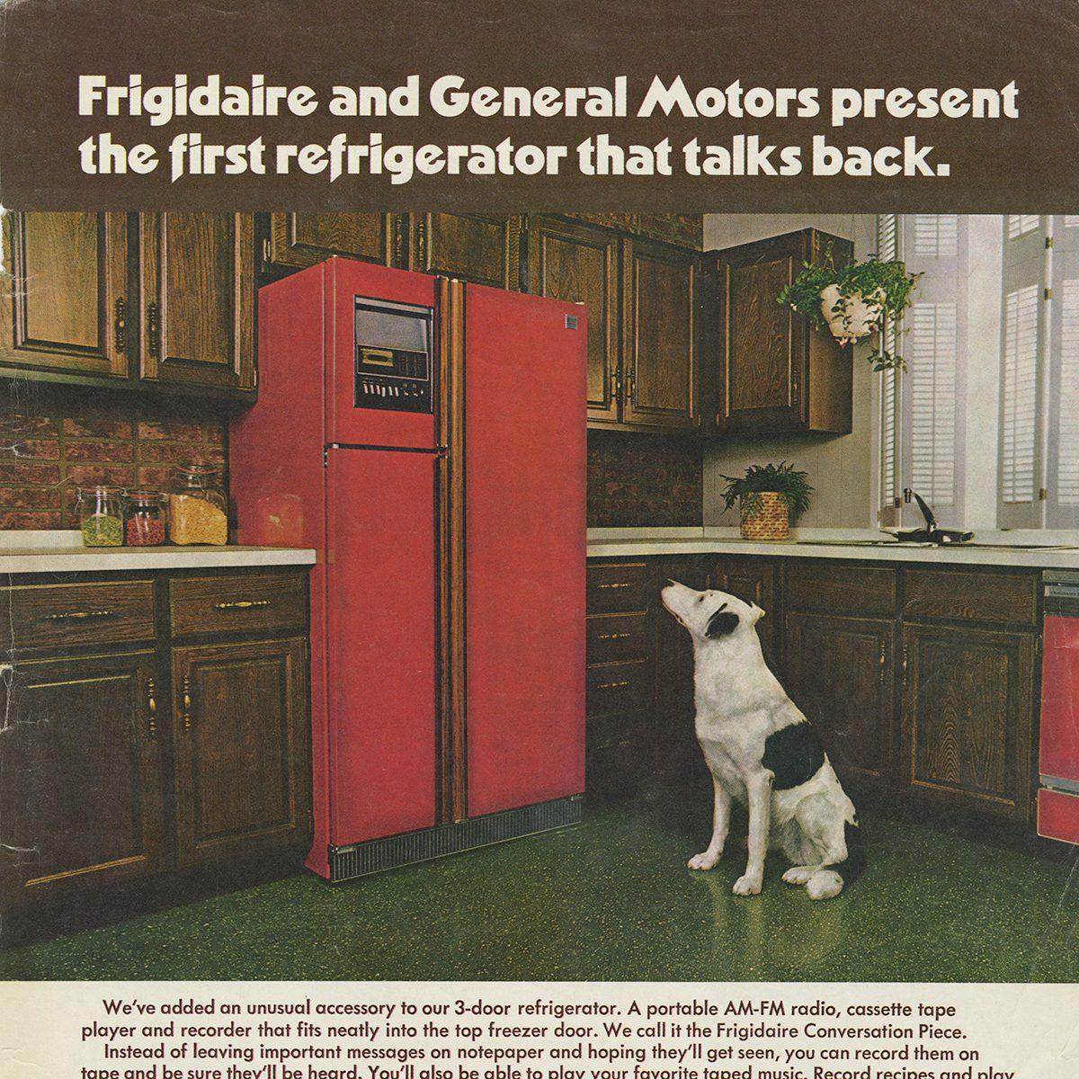 Frigidaire/General Motors Refrigerator ad