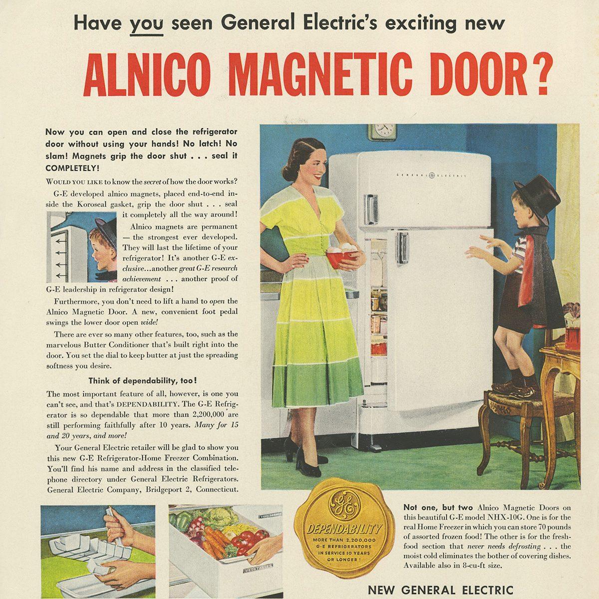 General Electric Refrigerator-Home Freezer