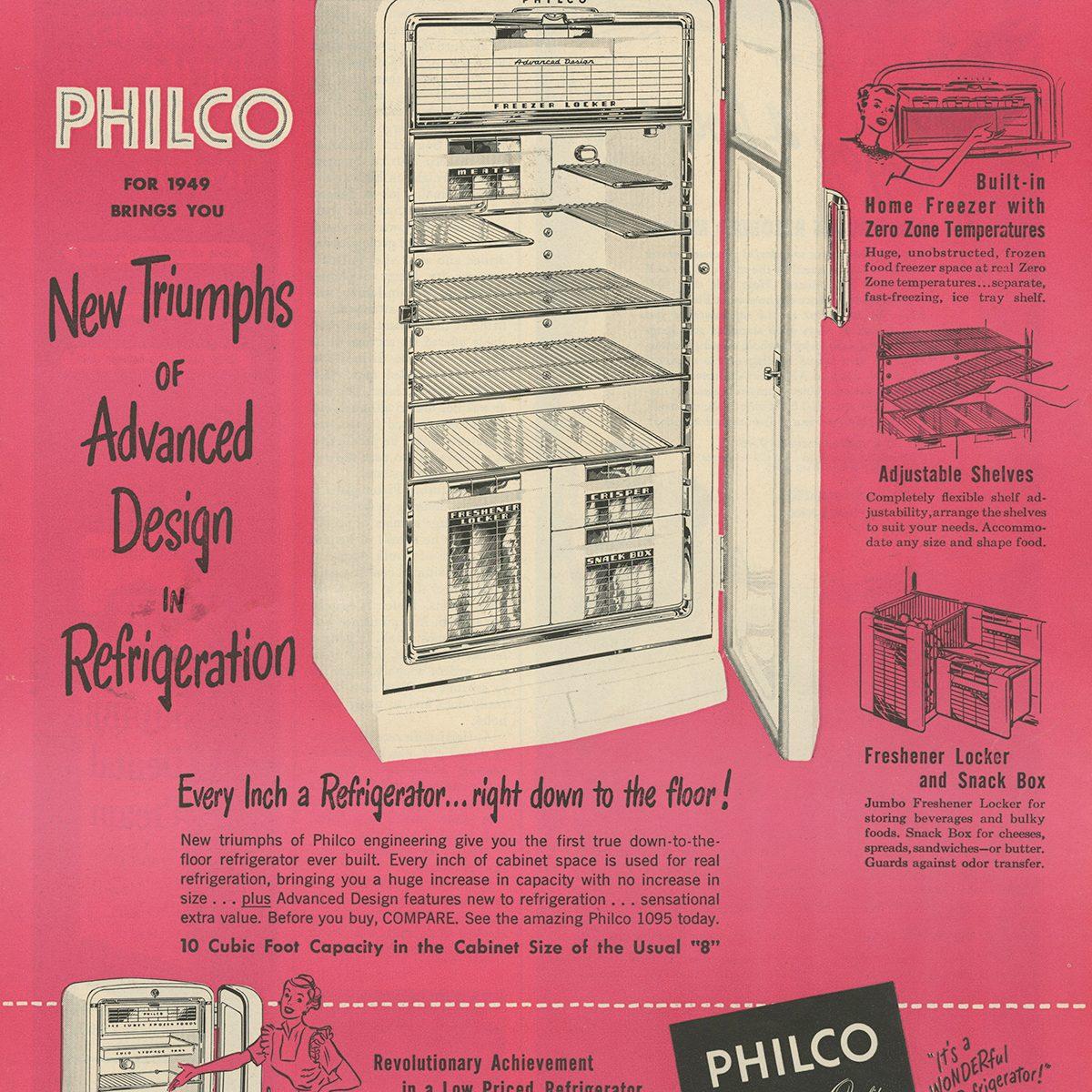 Philco Refrigerator