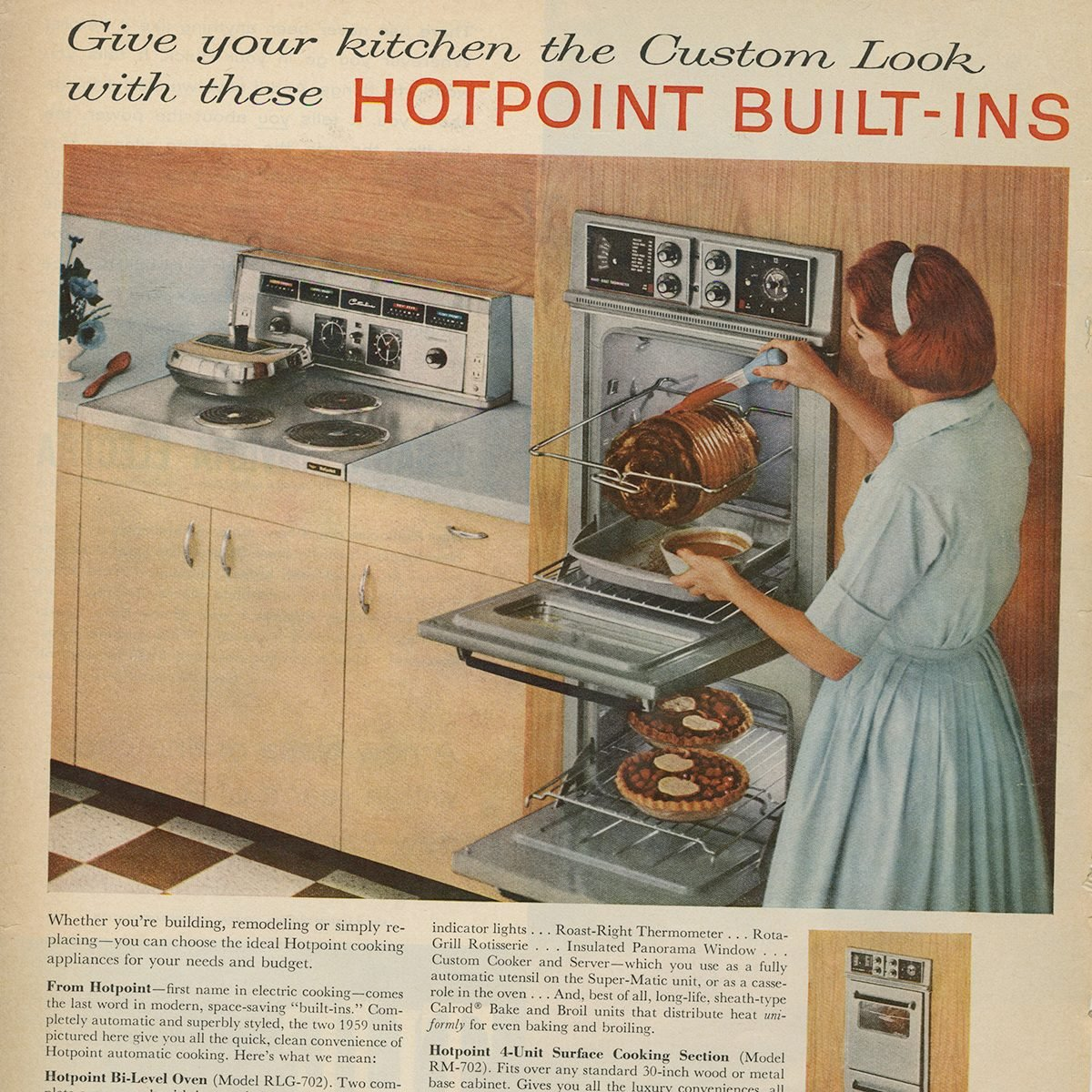 Hotpoint Built-in Ovens ad
