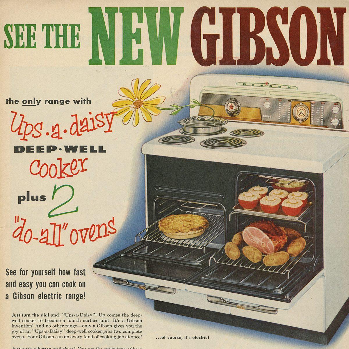 Gibson Electric Range ad