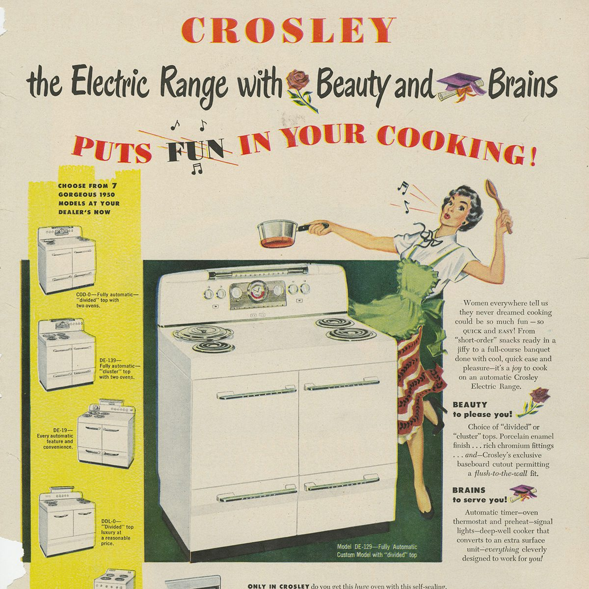 22 Retro Home Appliance Ads That Will Take You Back | Taste