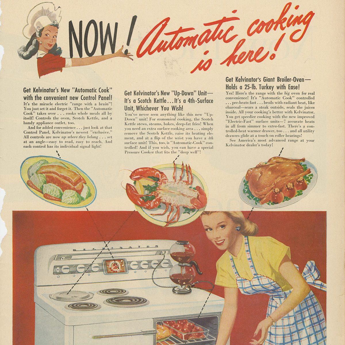 Kelvinator Automatic Cook