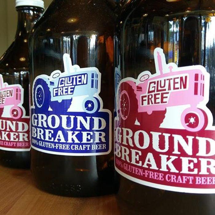 ground breaker, dark ale, beer