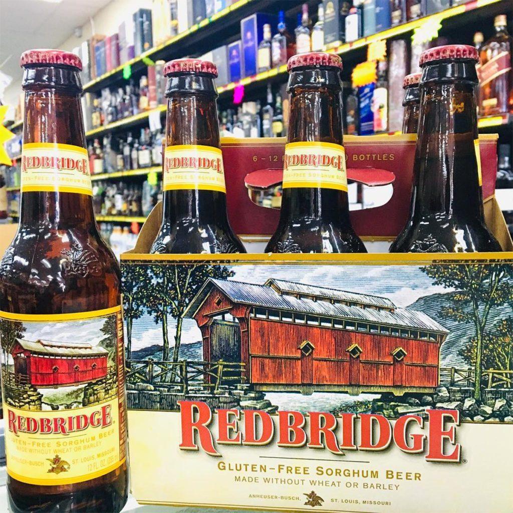red bridge, beer