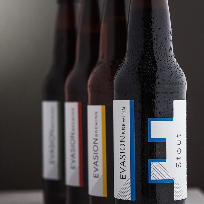 evasion brewing, stout, beer