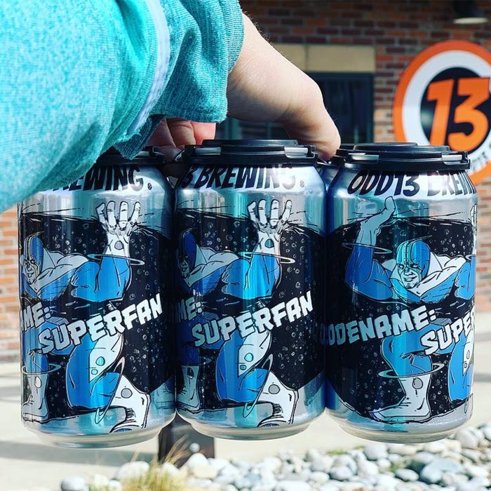 odd13 brewing, superfan, beer