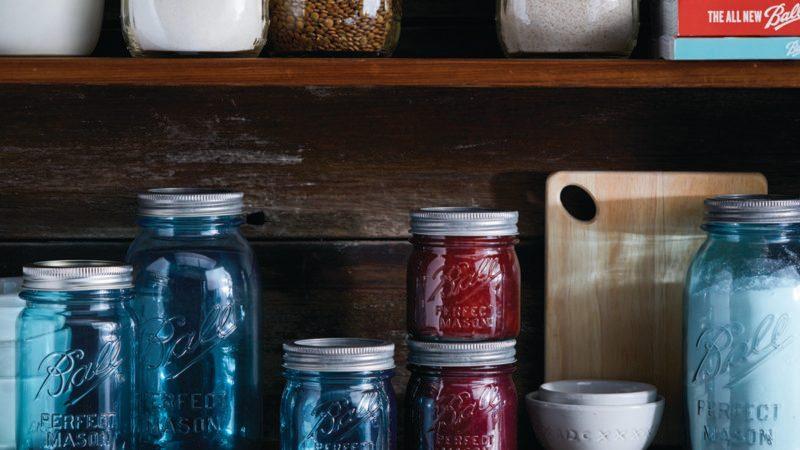 Ball Aqua Vintage Jars