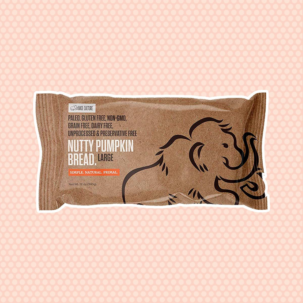 Base Culture Nutty Pumpkin Bread