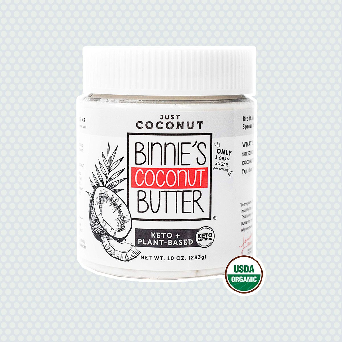 Binnie's Coconut Butter Organic Spread