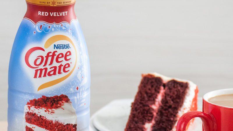 red velvet coffee creamer coffeemate