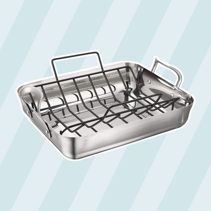 Calphalon Stainless Steel Roasting Pan with Rack