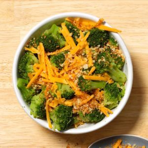 Quick Cheesy Broccoli