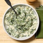 Garlic Creamed Spinach