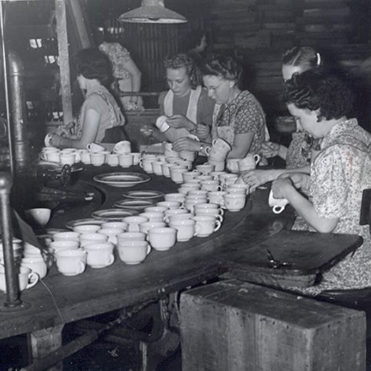 Fiesta Dinnerware factory