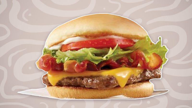 Wendy's Jr. Bacon Cheeseburger
