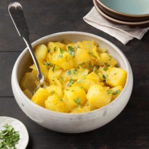 Indian Ginger Potatoes
