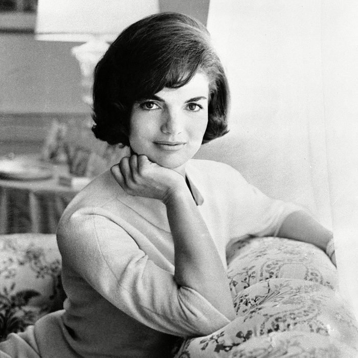 In this photo provided by the White House, first lady Jacqueline Kennedy is pictured in the first family's White House living quarters Jackie Kennedy