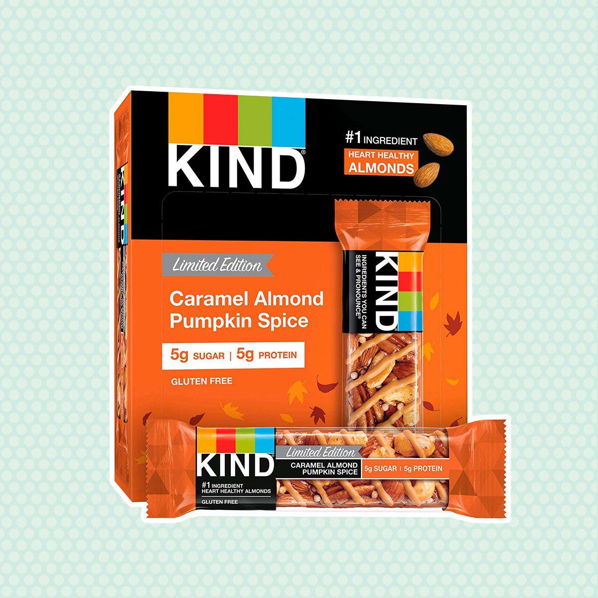 KIND Caramel Almond Pumpkin Spice Bars