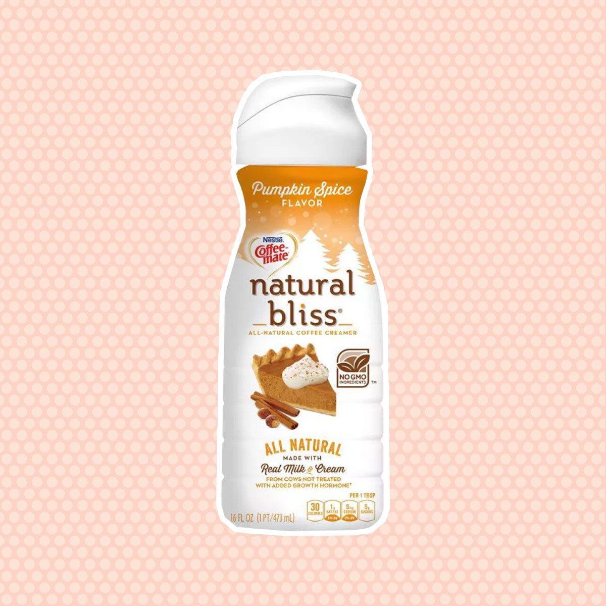 Natural Bliss Pumpkin Spice Coffee Creamer