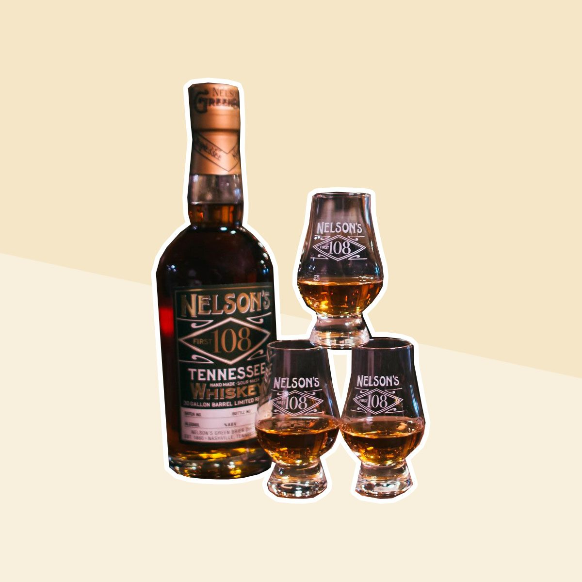 Nelson's Green Brier 108 Tennessee Whiskey