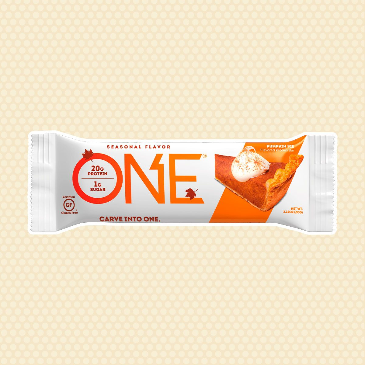 ONE Pumpkin Pie Bar
