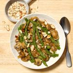 Sauteed Asparagus with Mushrooms