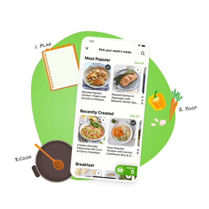 mealime meal planning app