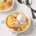 Slow-Cooker Peach Cobbler