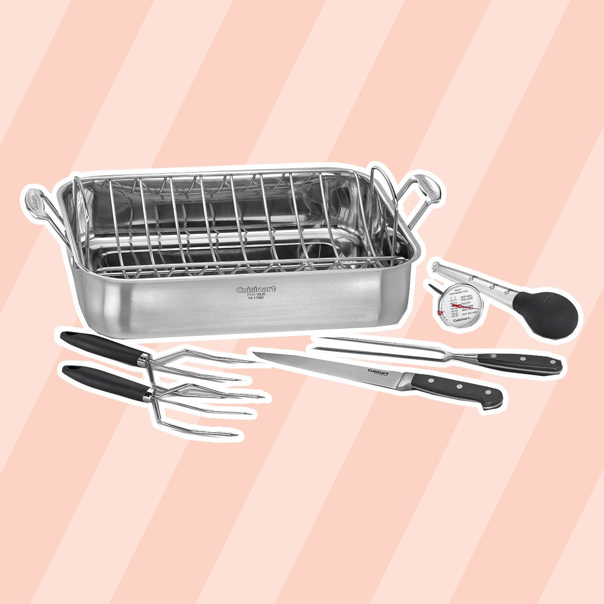 Cuisinart Chef's Classic Stainless Steel Roaster Pan
