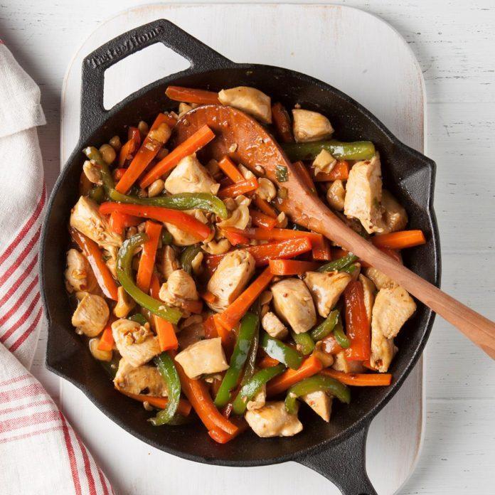 December 13: Szechuan Skillet Chicken