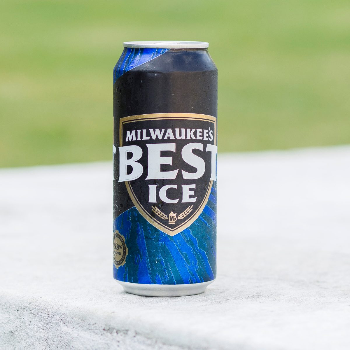 Can of Milwaukee's Best Ice beer