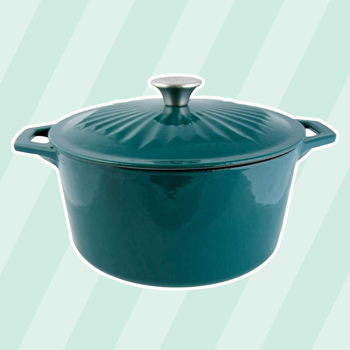 Taste of Home 5-quart Enameled Cast Iron Dutch Oven with Lid