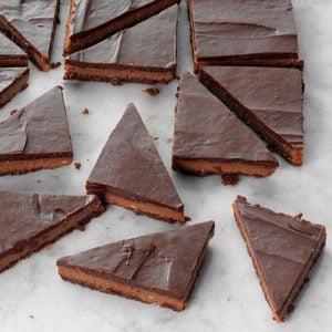 Triple-Chocolate Cheesecake Bars