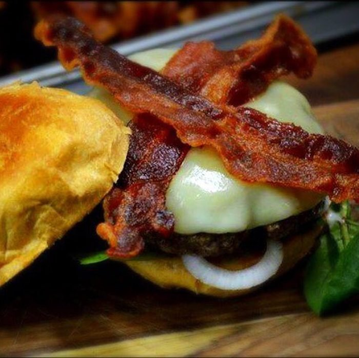 The best burger in Alabama, from The Avenue Pub.