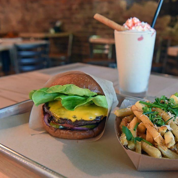 best burger in Virginia Beauvine Burger Concept