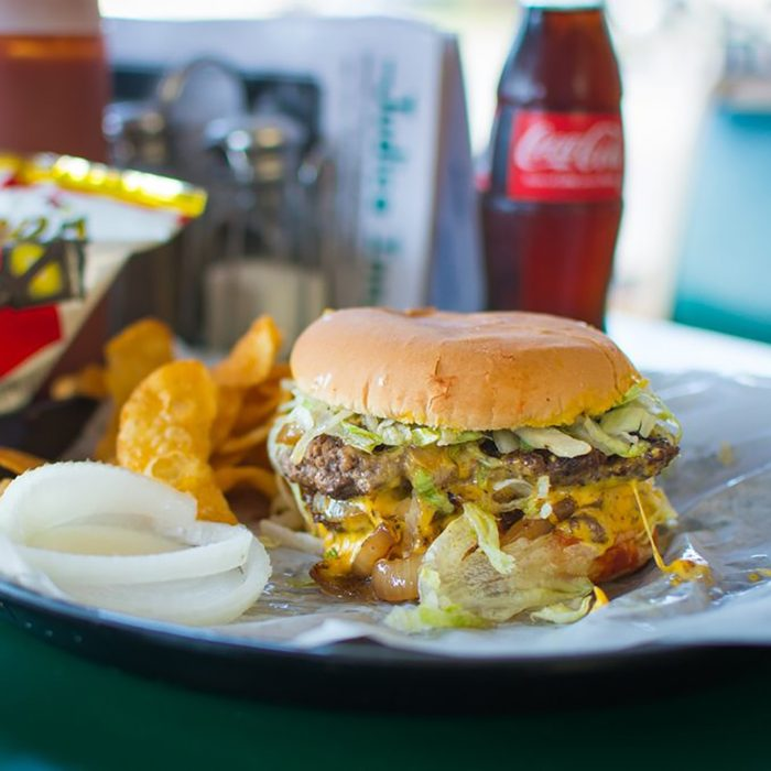 Best burger in Louisiana, Judice Inn