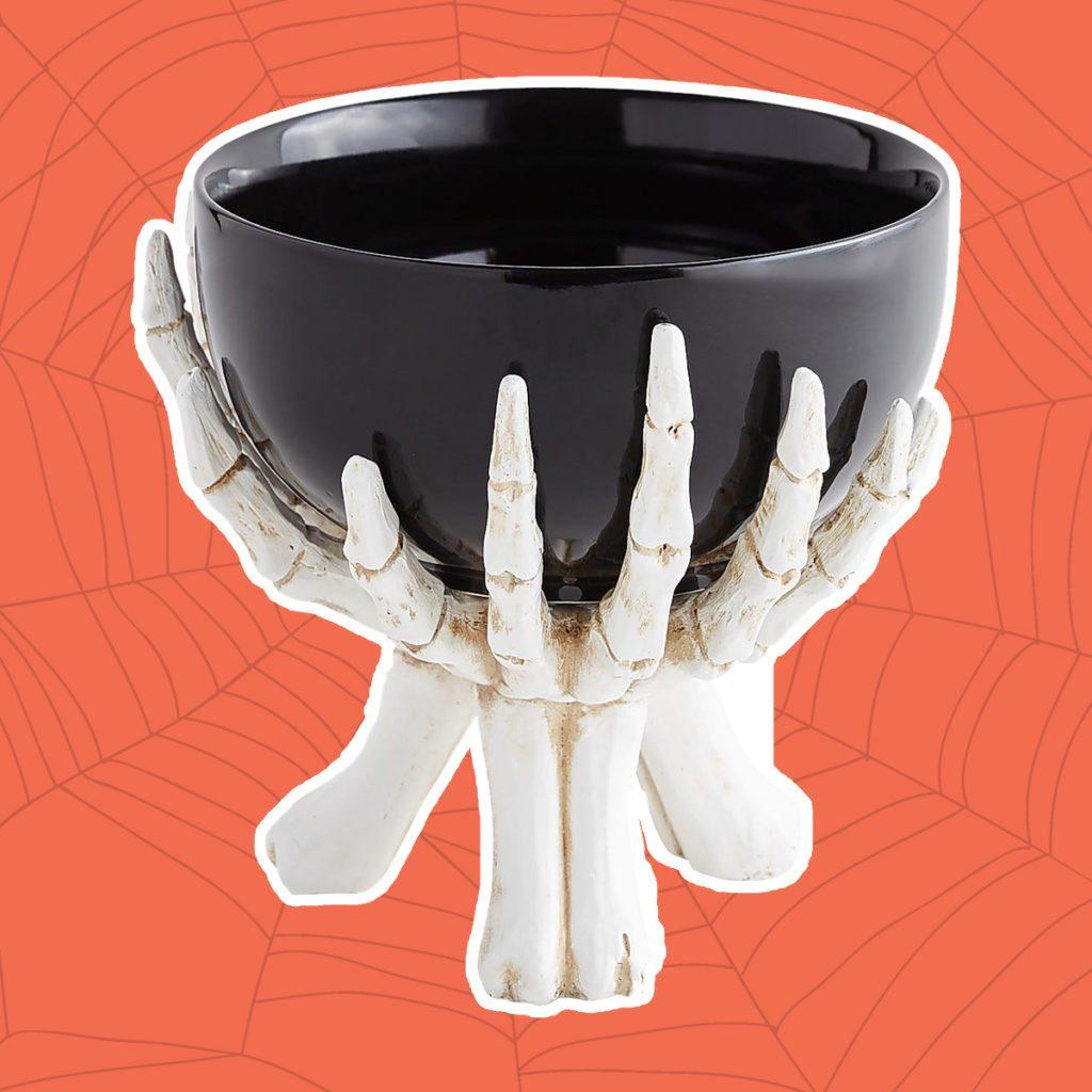 skeleton hand serve bowl, pier 1