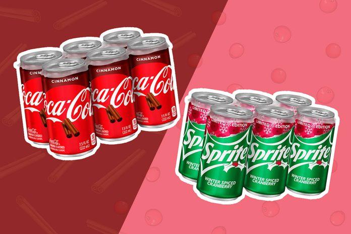 Coca-Cola Cinnamon and Cranberry Sprite
