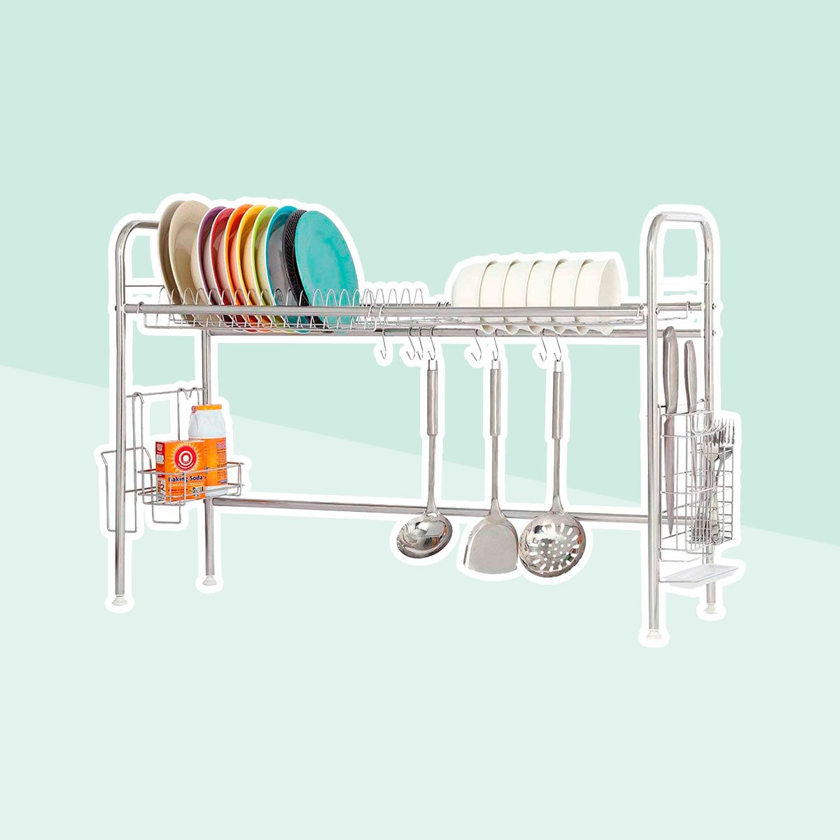 Stainless steel drying cart