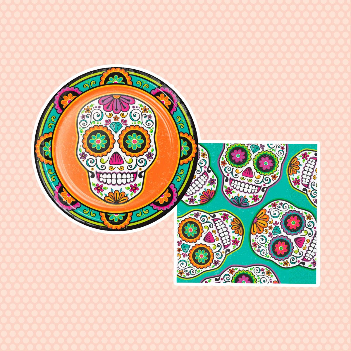 Day of the Dead Plates & Napkins