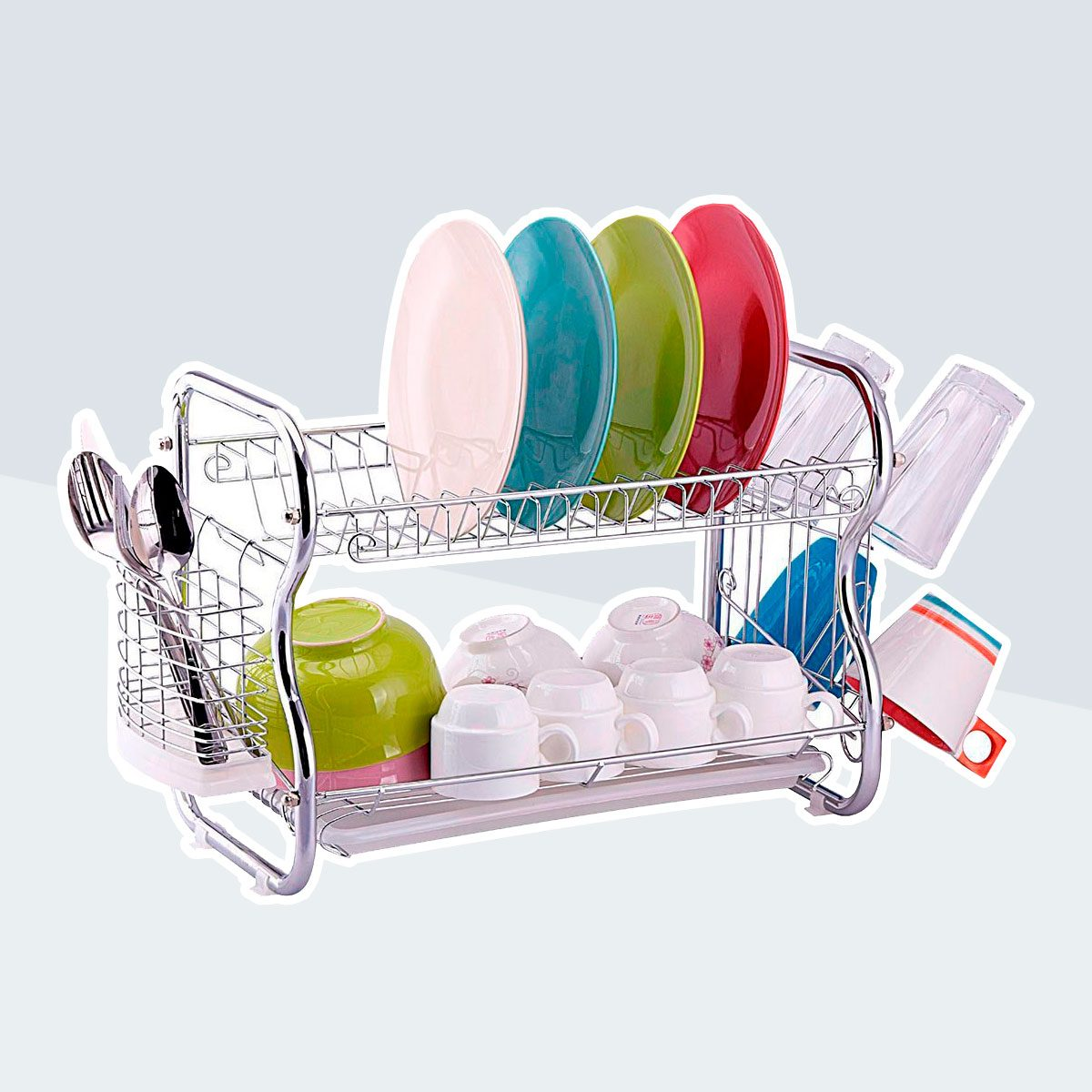 stainless steel wire dish rack