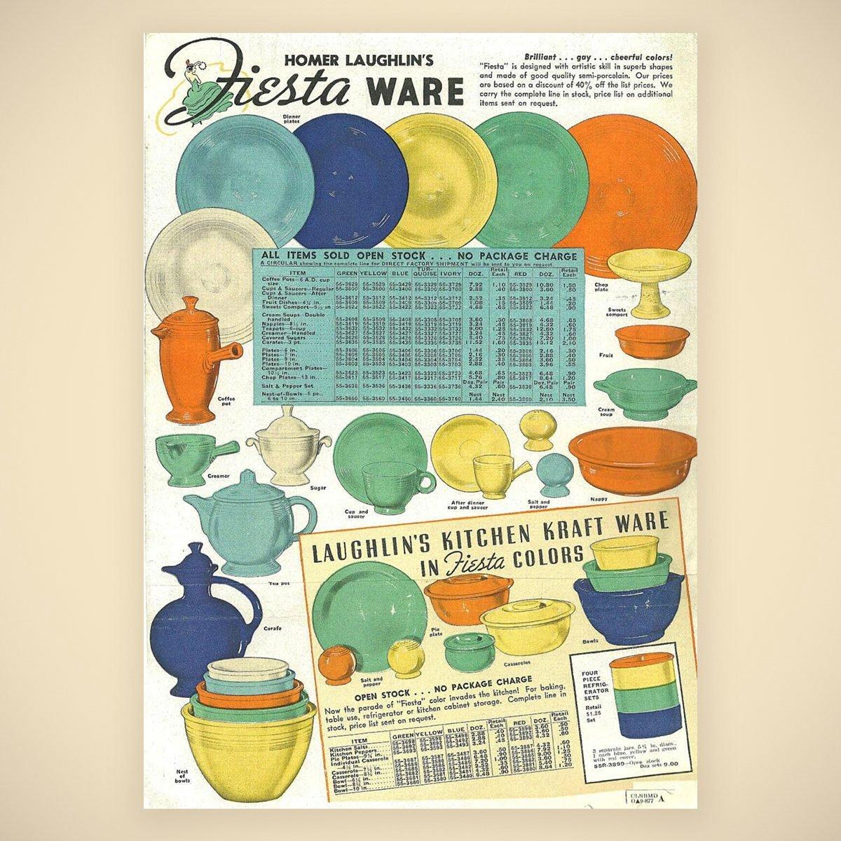 fiesta Vintage advertising