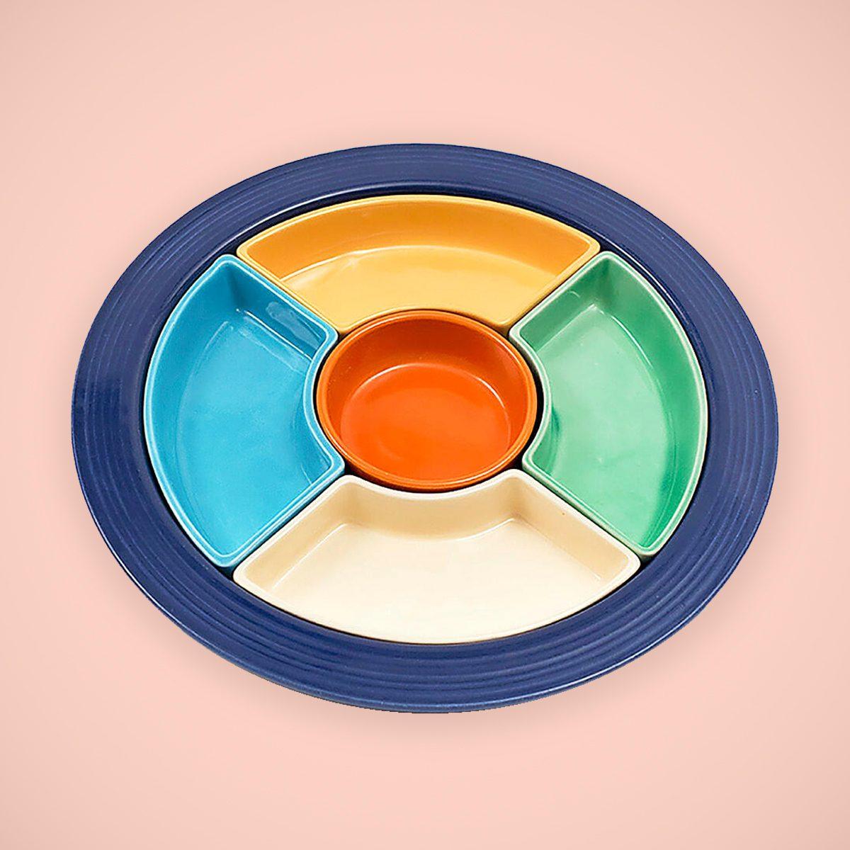 fiesta Iconic design relish tray