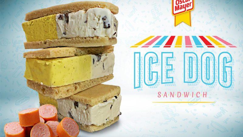 oscar mayer hot dog ice cream sandwich