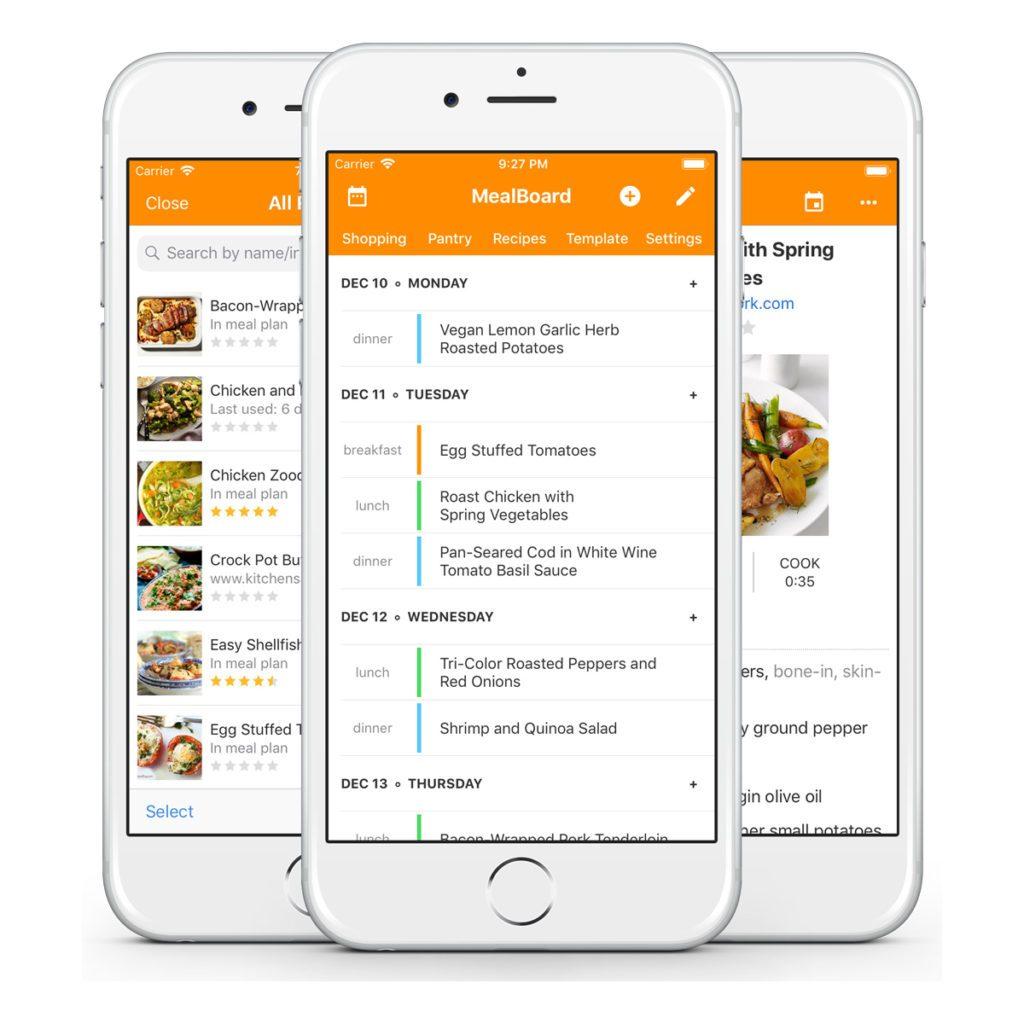 meal board app