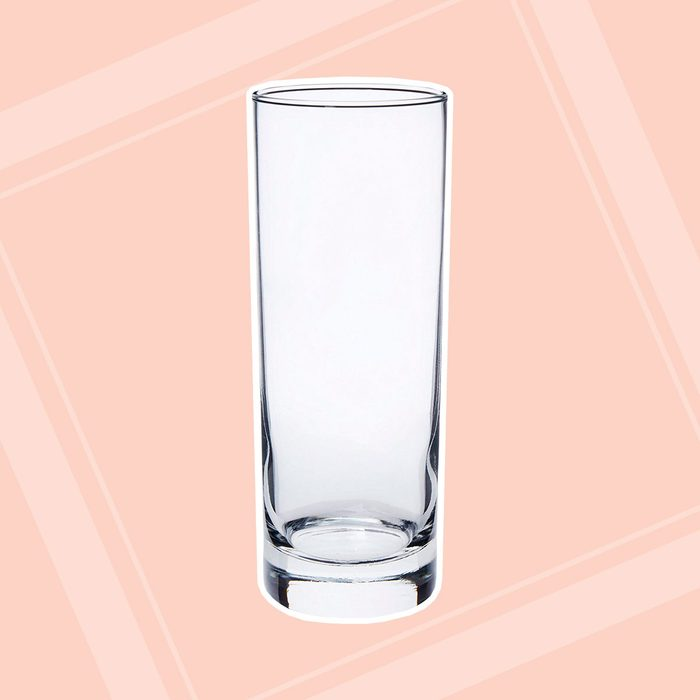 Libbey 16-Ounce Midtown Cooler Glass, Clear, 4-Piece