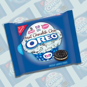 Baskin-Robbins Mint Chocolate Chip Oreos Have Been Spotted in Stores!