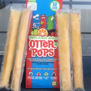 Otter Pops Ditch Their Trademark Colors In Favor of No Artificial Dyes