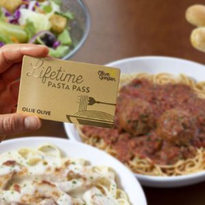 Olive Garden Will Now Sell LIFETIME Pasta Passes